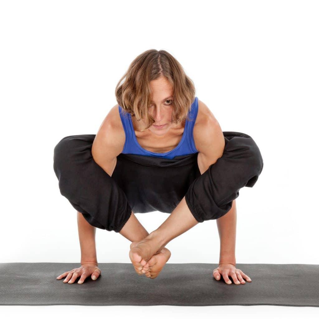 Anna Wulf - Yogaübung